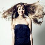 włosy umyte naturalnym szamponem